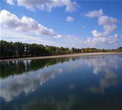 哈巴河县白沙湖
