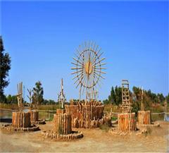 库尔勒罗布人村寨