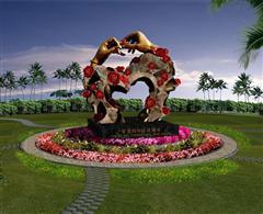 三亚亚龙湾国际玫瑰谷