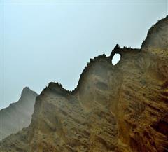 喀什天门山大峡谷