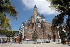 珍珠岛城堡广场