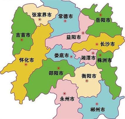 湖南旅游地图 湖南旅游地图全图高清版 湖南旅游地图全图高清版大图