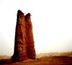 克孜尔尕哈烽火台
