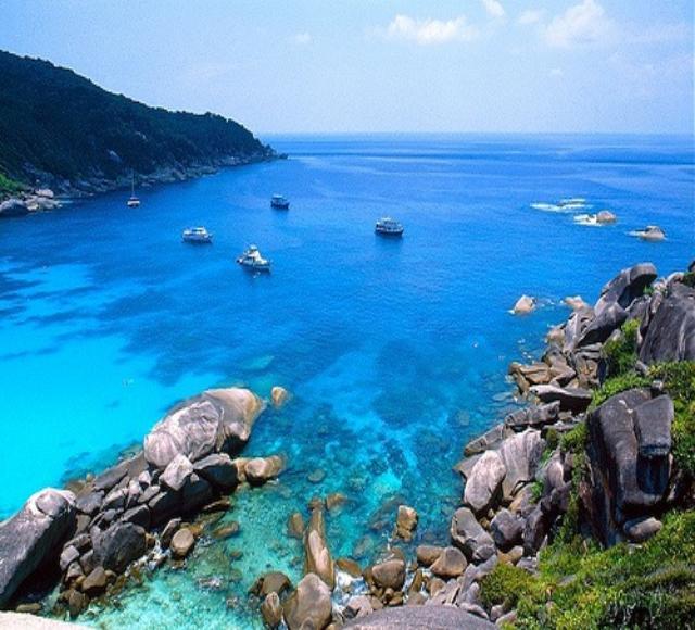 泰国普吉岛斯米兰群岛