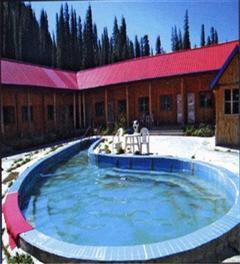新疆伊犁布隆温泉