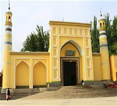 [喀什民俗-达瓦昆沙漠2日]新疆最大清真寺|倾听香妃的神秘传说