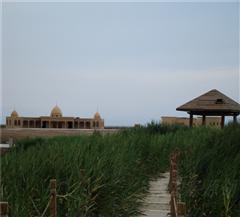 吐鲁番艾丁湖