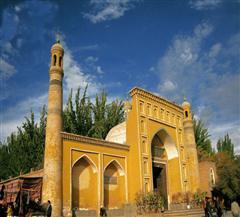 [罗布人村寨-胡杨林-卡拉库里湖-喀什市内双飞4日]喀什段特色中餐:鸽子汤+鸽子面