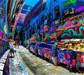 墨尔本涂鸦街
