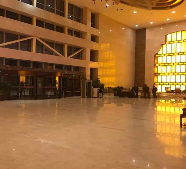 石河子恒和华星酒店大厅