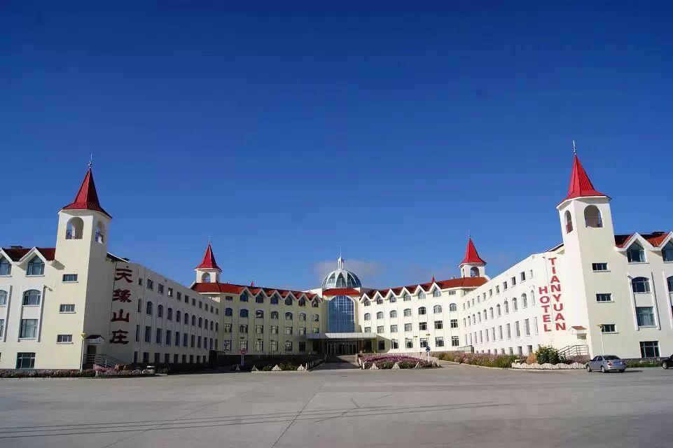 喀纳斯机场天缘酒店外观