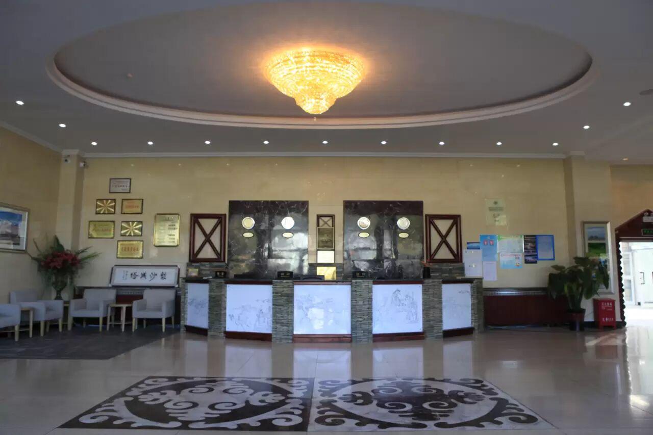 贾登峪四季休闲酒店大厅