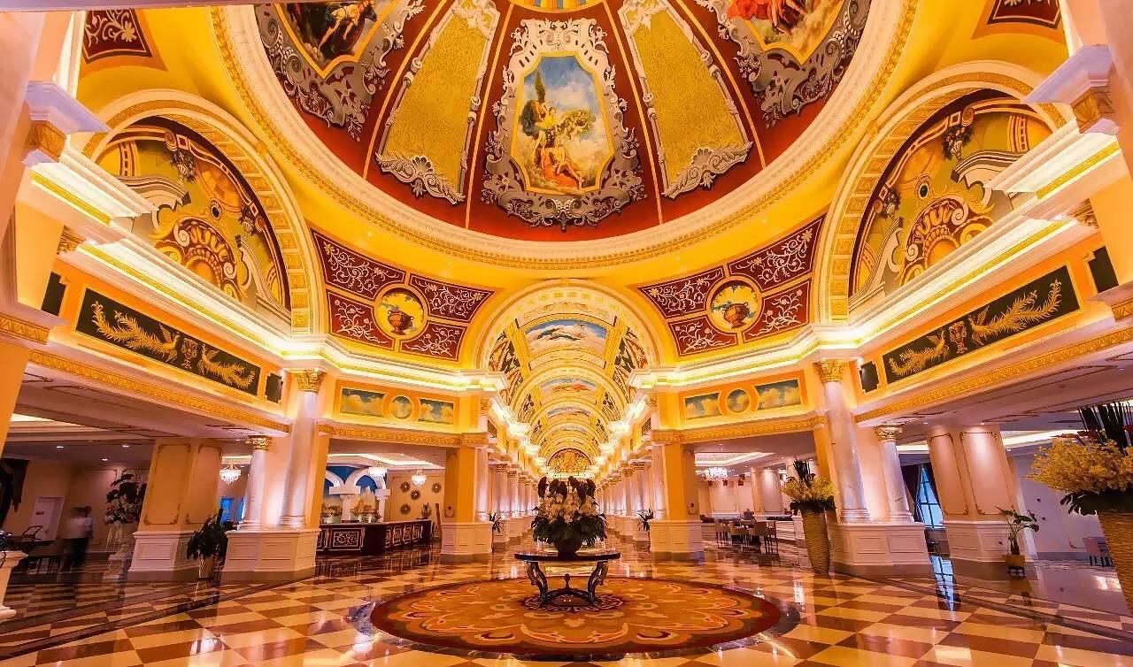 哈密红星建国饭店公共区域1