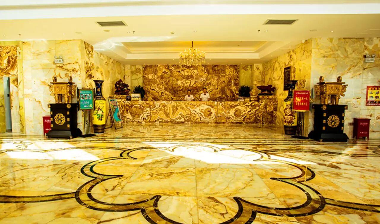 湘溢海川国际酒店大厅
