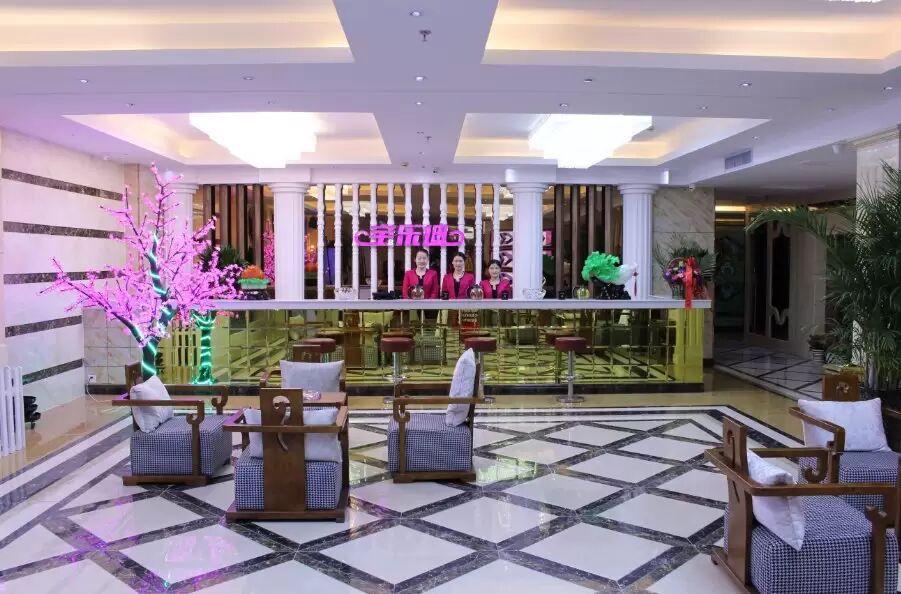 湘溢海川国际酒店前台