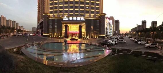 昌吉华东·容锦国际酒店外观