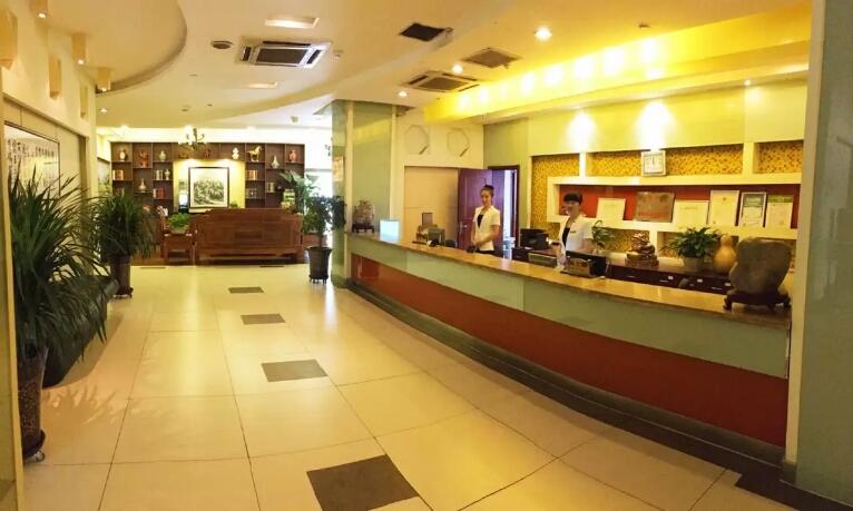 乌鲁木齐文苑酒店大厅