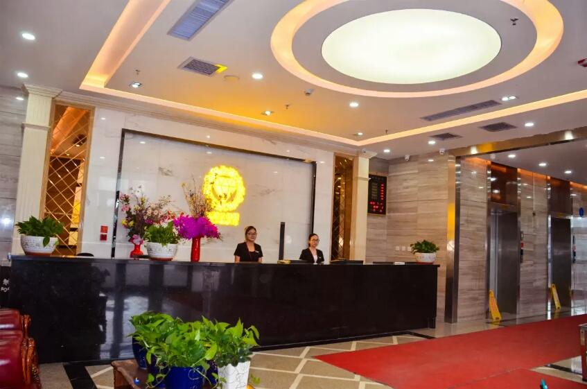 乌鲁木齐克拉云智慧酒店大厅