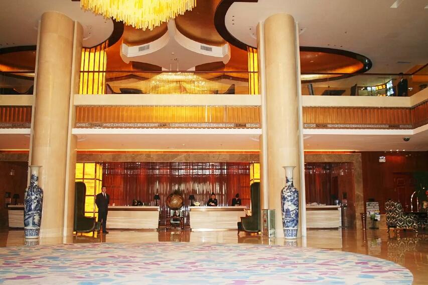 喀什温州国际酒店大厅