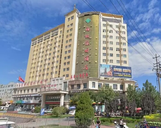 喀什西域假日酒店外观