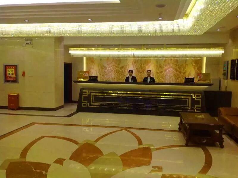 精河锦疆大酒店前台