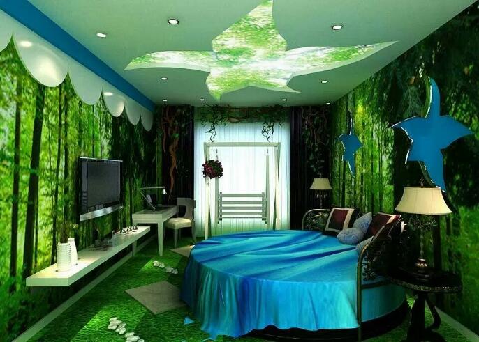 喀什江苏大酒店绿色森林房