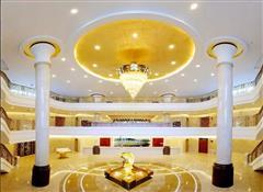 喀纳斯机场天缘酒店大厅
