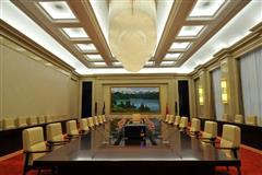 昌吉亚欧论坛国际专家公寓会议室