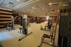 乌鲁木齐绿城百合会所健身房