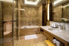 乌鲁木齐锦江国际酒店客房卫生间