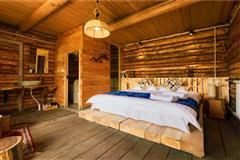 禾木有舍 原木大床房