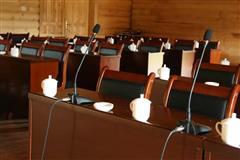 禾木山庄 会议室