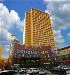 喀什其尼瓦克国际酒店外观