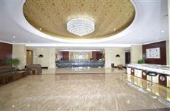 可可托海远方酒店大厅