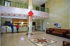 可可托海宾馆大厅